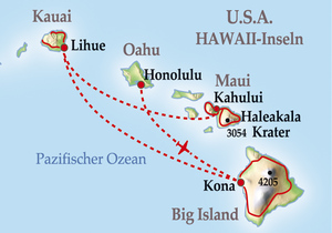 11 Tage Gruppenreise Hawaiian Islands Insider