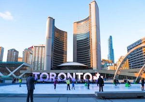 6 Tage Christmas Shopping in Toronto