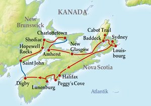 Kanada rundreise osten