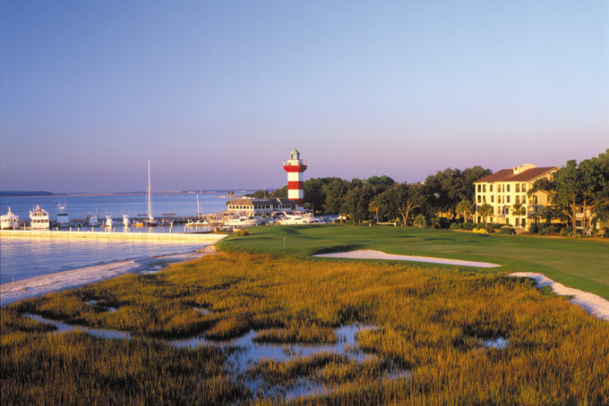 Hilton Head Island, Harbour Town Golf Links at Sea Pines Pl.