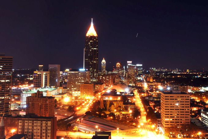 Georgia - Atlanta Skyline