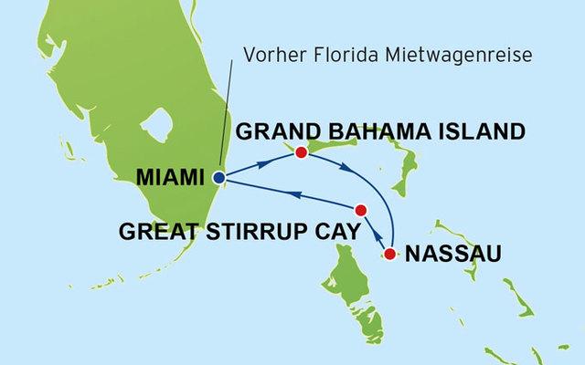 Reisearten - Kreuzfahrten - Florida/Karibik - 14 Tage Florida und ...